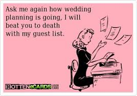 Wedding Planning Death