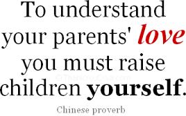 Understand Parents Love