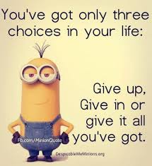 Three Choices