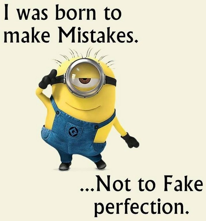 Mistakes Not Perfection